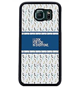 PrintDhaba Quote D-4330 Back Case Cover for SAMSUNG GALAXY S6 (Multi-Coloured)