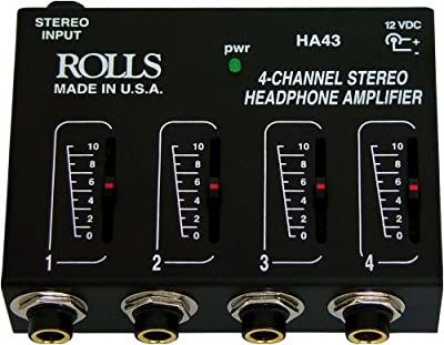 Rolls HA43 Pro Headphone Amplifier Mixer