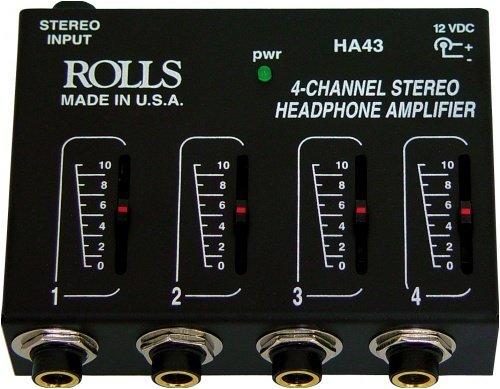Rolls Ha43 Pro Headphone Amplifier Mixer