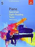 Piano Specimen Sight-Reading Tests, Grade 5