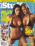 Stuff Magazine #41 [April 2003] Miller Lite Girls, Kitana Baker, Tanya Ballinger