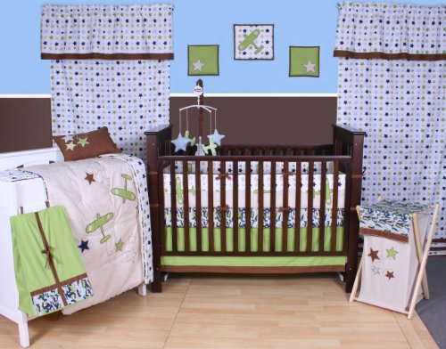 Camo Air 10 Pc Crib Set front-65825