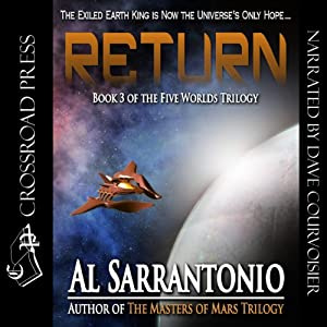 Return: The Five Worlds Trilogy, Book 3 | [Al Sarrantonio]
