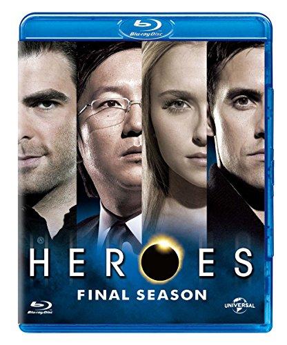 HEROES/ヒーローズ ファイナル・シーズン ブルーレイ バリューパック [Blu-ray]