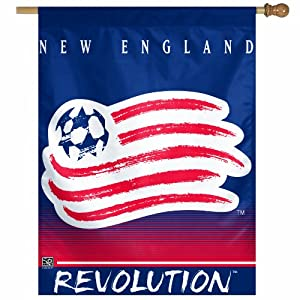 MLS New England Revolution 27-by-37 Inch Vertical Flag by WinCraft