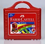 A.W.Faber-Castell I Pvt Ltd Faber-castell Oil Pastels Set of 50 Easy to Pack and Carry Colour Tool Box (Plastic Box Packing)
