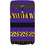 For Samsung Galaxy S3 Mini I8190 :: Samsung I8190 Galaxy S III Mini :: Samsung I8190N Galaxy S III Mini Nice Pattern ( Nice Pattern, Pattern, Stripes, Stripes Pattern, Tiger Pattern ) Printed Designer Back Case Cover By FashionCops