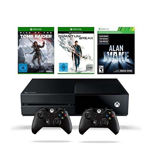 Xbox One 500GB Konsole inkl. Quantum Break + Rise of the Tomb Raider + Alan Wake + Xbox One Wireless Controller 2015