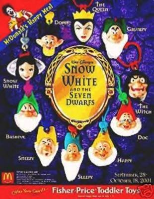 Snow White and the Seven Dwarfs Clip-on Witch - 1