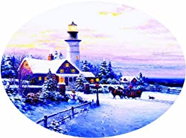 Towards the Light 600pc Oval Jigsaw Puzzle by Ghambaro