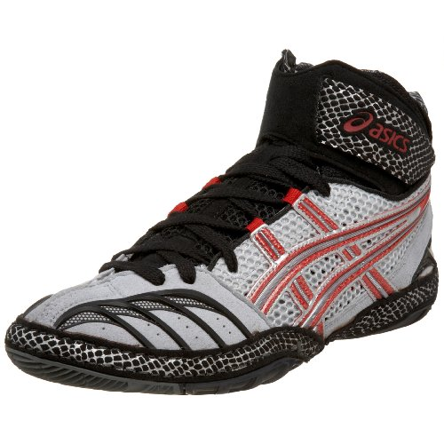 Ultratek Wrestling Shoes Lightning Fire Red Black