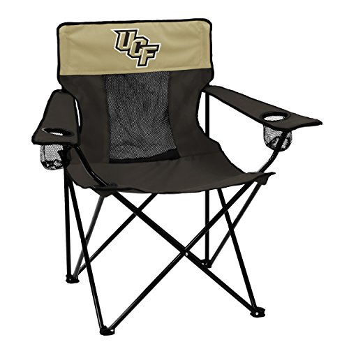 NCAA Central Florida Golden Knights Elite Chair by Logo Brands (Central Florida Knights compare prices)