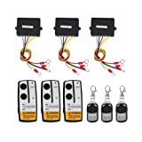3 Wireless Winch Remote Control Kit 12V for Truck Jeep SUV ATV