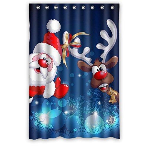santa shower curtain browse santa shower curtain at shopelix