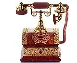 (よんピース) 4 piece オルゴール メロディ ボックス レトロ 電話 ダイヤル おしゃれ プレゼント 贈り物 ブラウン KH0085
