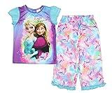 Disney Frozen Girl's Anna Elsa Family Forever Pajamas
