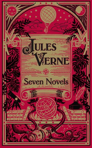 Jules Verne: Seven Novels (Barnes & Noble Leatherbound Classic Collection)