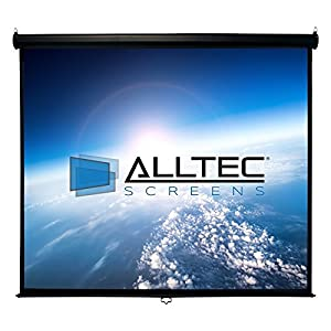 Alltec Screens ATS-M120VB Manual Series Video Format Projector Screen (120