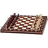 Woodeyland Hand Crafted Wooden SENATOR Chess PROFESSIONAL Set 40 x 40 cm
