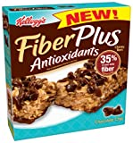 51hnaUgm0dL. SL160  FiberPlus Antioxidant Bars, Chocolate Chip, 5 Count Bars (Pack of 12)