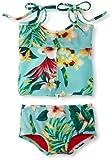 Limones y Limas Baby-Girls infantil Maui Tankini, turquesa/Multi, 6Meses Color: Turquesa/Multi Tamaño: 6Meses (Baby/Babe/Infant-Little Ones)