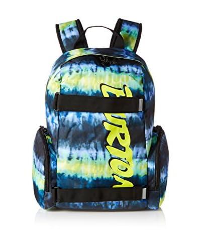 Burton Mochila Yth Emphasis Surf Stripe Print Azul / Lima