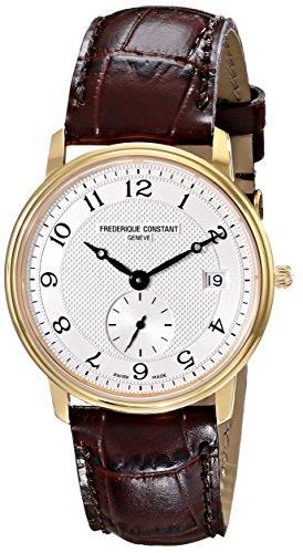 Frederique Constant FC-245AS4S5 - Reloj de pulsera hombre, sintético, color marrón