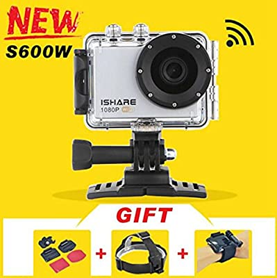 iShare S600W WiFi Action Sport Camera 1080P Waterproof Sport Camera