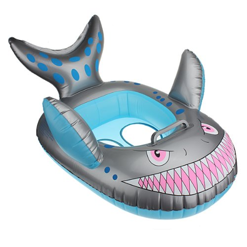 Shark Inflatable Baby Toddler Infant Swimming Pool Seat Float Boat Ring 508966963037