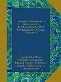 img - for Hermann Grassmanns Gesammelte Mathematische Und Physikalische Werke, Volume 1 (German Edition) book / textbook / text book