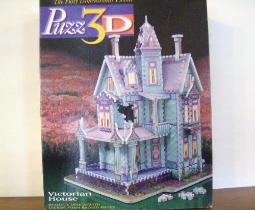 Cheap Milton Bradley Puzz 3D Victorian House (B000KNASDG)