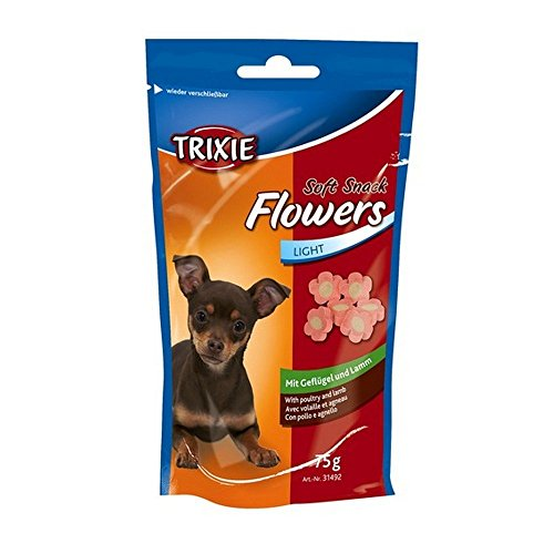 TRIXIE Soft snack flowers light 75gr - Snack e biscotti cane ossa