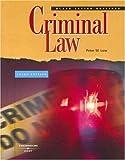 Black Letter Outline on Criminal Law (Black Letter Outlines) (0314180575) by Peter W. Low