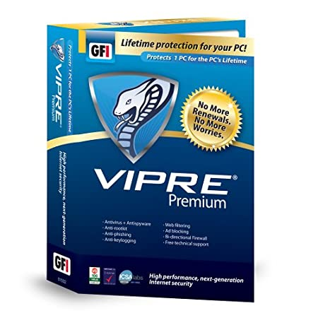 Vipre Premium, Protects 1 PC for the PC's Lifetime (PC)