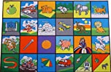 Toy - Giant Alphabet Picture Playmat (150 x 100cm) - what a fun way to learn!
