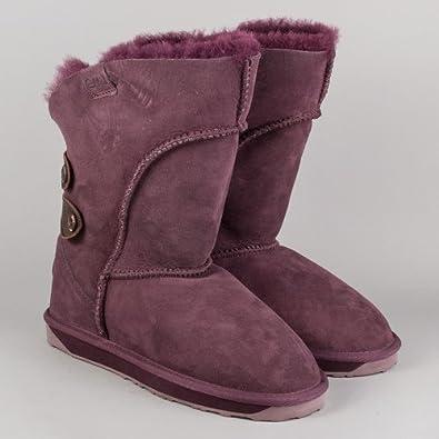 Emu Australia Alba W10088 Purple Boots (UK 7)