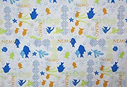 Disney NEMO and Friends Toddler Size (FLAT SHEET ONLY) Boys Girls Kid