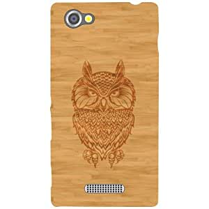 Sony Xperia M Back Cover - Owled Eye Designer Cases