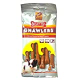 Gnawlers Meat Zip Pouch 6 Pieces (pack Of 2)