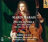 Marin Marais: Pieces for Viol from the Five Books (1686 - 1701 - 1711 - 1717 - 1725)
