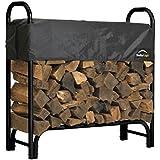 ShelterLogic Covered Firewood Rack