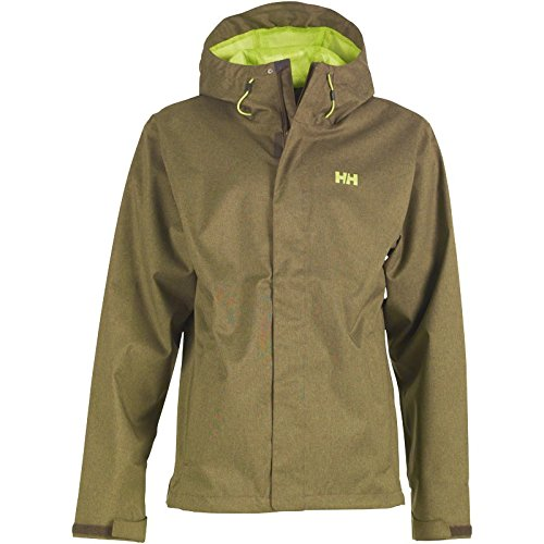 Grün Helly Hansen Herren Nine Helly Tech Jacke Grün