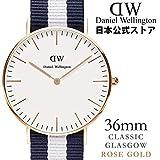 (公式) ダニエル ウェリントン 腕時計  [ローズ] グラスゴー/ローズ 36mm (Daniel Wellington 日本正規総輸入代理店) 071995 0503DW