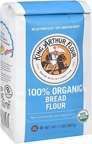 King Arthur Flour 100% Organic Bread Flour , 2 Pound (Pack of 12) (King Arthur Bread Machine Flour compare prices)