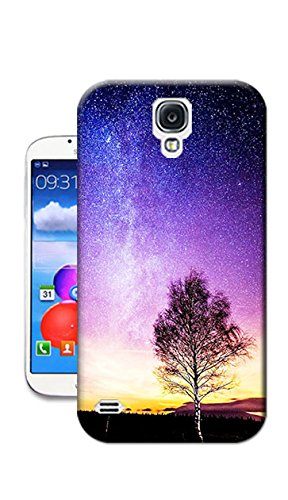 HOT SALE!BINGGO The Trees Under The Stars Painting TPU Protective hard case For Samsung Galaxy S4 Pringting cover.