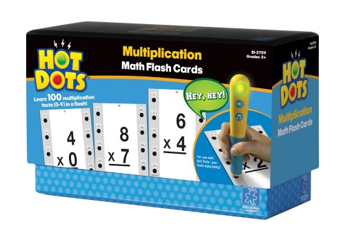 Educational Insights Hot Dots Multiplication - 1