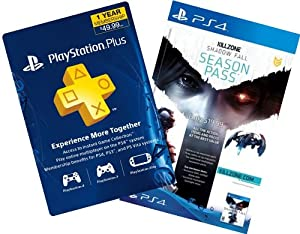 Killzone Shadow Fall Digital Bundle: Season Pass + 1-Year PS Plus - PS4 [Digital Code]