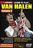 Lick Library: Learn To Play Van Halen - Volume 3 [Import allemand]