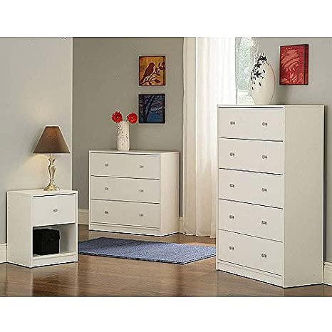 Studio Collection 3-piece Furniture Set, White