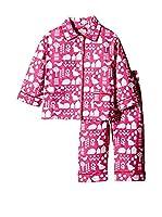 Toby Tiger Pijama Pjtpkgarden (Rosa)
